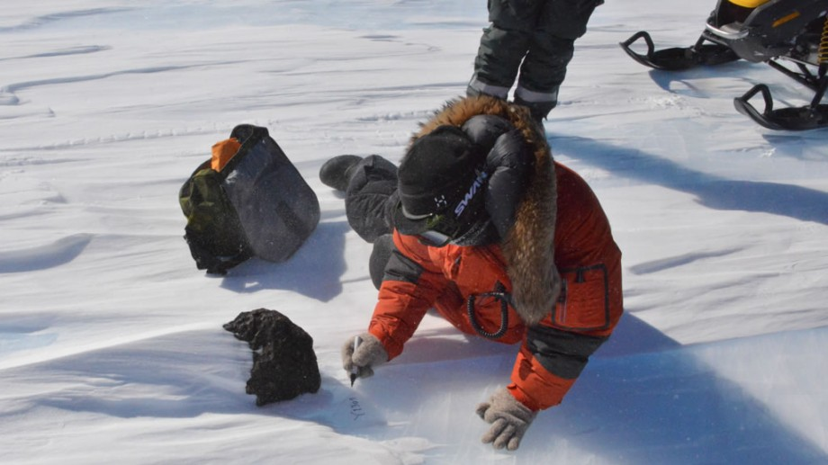 Scientists at Princess Elisabeth Antarctica Discover 18kg Meteorite