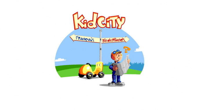IPF featured on the Kid City website of Belgacom
