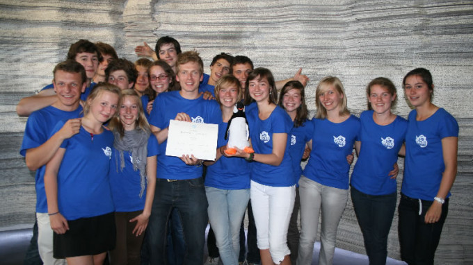 Leiepoort Deinze Campus Sint-Hendrik Wins the Polar Quest Contest!