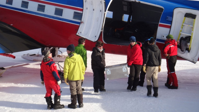 Scientists Arrive at Princess Elisabeth Antarctica