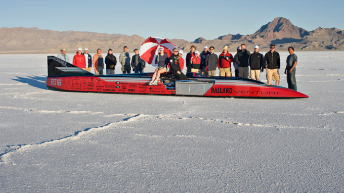 "Venturi ""Buckeye Bullet 2"" Sets New Land Speed Records"
