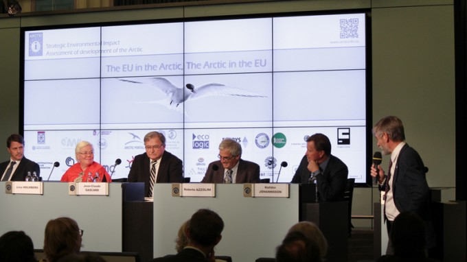 EU Arctic Information Centre consortium presents results of impact assessment in Brussels