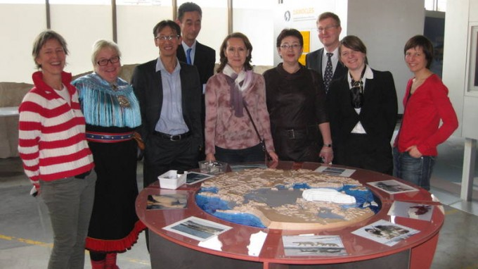 Representatives of Arctic Indigenous Peoples Visit the IPF