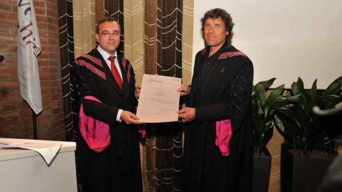 Alain Hubert Awarded an Honorary Doctorate