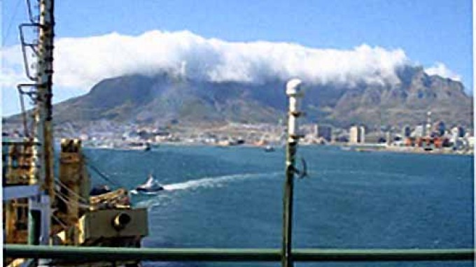 BELARE 2007-2008: The Ivan Papanin Ship Leaves Cape Town