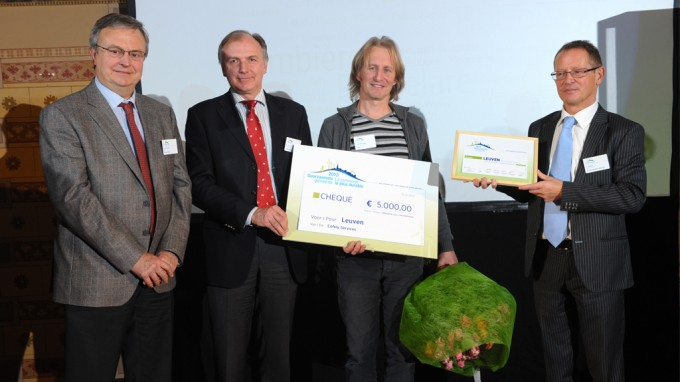 Leuven elected most sustainable Belgian municipality in 2013