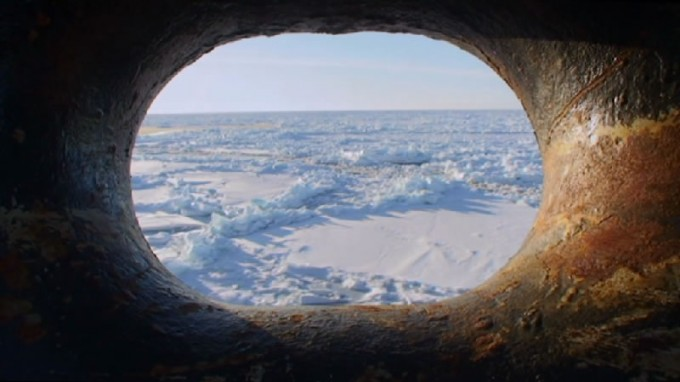 "Antarctic film ""Par delà les banquises"" shows land in a different light"