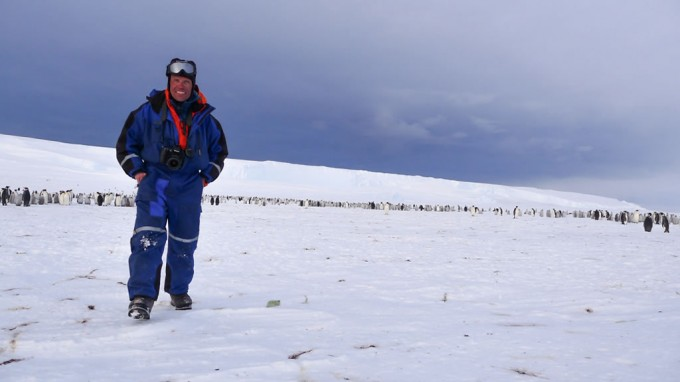Foundation team are first humans to visit emperor penguin colony