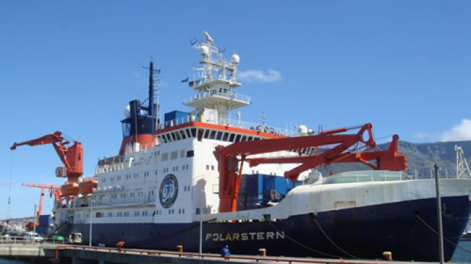 Polarstern 2006 / CAML expedition: weekly report - departure from Cape Town