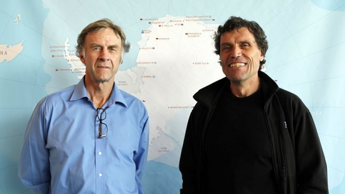 Sir Ranulph Fiennes visits the International Polar Foundation