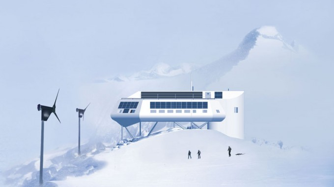 "Contest: Draw your Own ""Zero Emission"" Station and Send your Drawing to Antarctica"