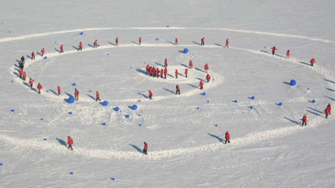 Stellar Axis: Lita Albuquerque's Antarctic art project is completed